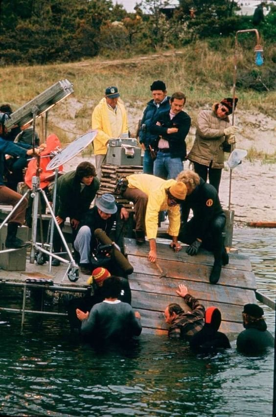 From the Film Jaws Behind the Scenes