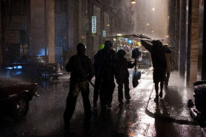 Shooting in the Rain : Munich (2005) - Behind the Scenes photos