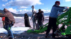 Silver Surfer in Rise of the Silver Surfer (2007) - Behind the Scenes photos