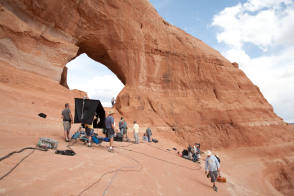 On the Set of 127 Hours (2010) - Behind the Scenes photos