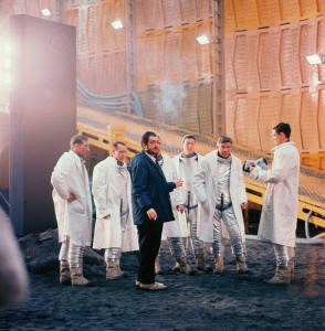 Stanley Kubrick on the Set - Behind the Scenes photos