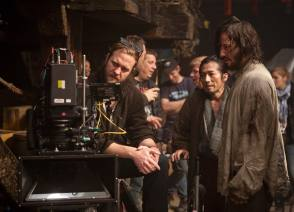 On the Set of the Film 47 Ronin (2013)