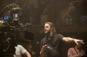 The director Carl Rinsch - Behind the Scenes photos
