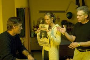 Viggo, Maria and David on the Set - Behind the Scenes photos