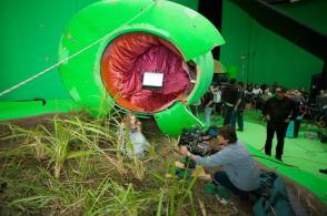 Alice in Wonderland (2010) - Behind the Scenes photos