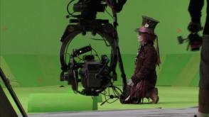 Johnny Depp in Alice in Wonderland (2010) - Behind the Scenes photos