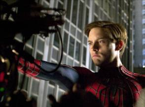 Tobey Maguire : Spider-Man 2 (2004) - Behind the Scenes photos
