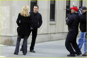 Filming The Bourne Ultimatum (2007) - Behind the Scenes photos