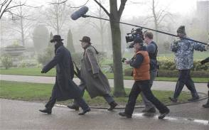Filming The King's Speech (2010) - Behind the Scenes photos
