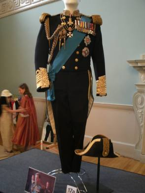 The King's Uniform in The King's Speech (2010) - Behind the Scenes photos