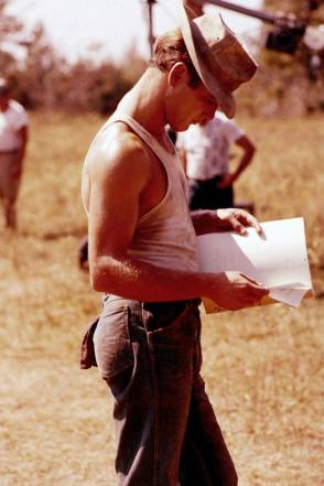 On the Set of Cool Hand Luke (1967) - Behind the Scenes photos