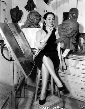 Mother of the Gill Man in Creature from the Black Lagoon (1954) - Behind the Scenes photos