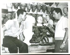Ricou & Bud : Creature from the Black Lagoon (1954) - Behind the Scenes photos
