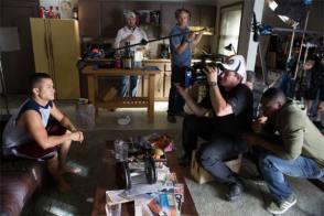 Joseph Gordon-Levitt in Don Jon (2013) - Behind the Scenes photos