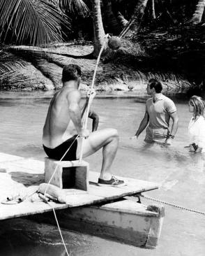 Andress & Connery : Dr. No (1962) - Behind the Scenes photos
