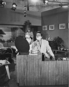 Desi Arnaz as Ricky : I Love Lucy (1951) - Behind the Scenes photos