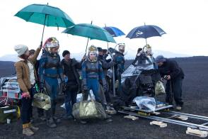 A Still from the Film Prometheus (2012) - Behind the Scenes photos