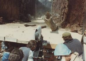 On the Set of Dune (1984) - Behind the Scenes photos