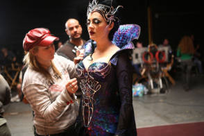 Susan Sarandon as Queen Narissa - Behind the Scenes photos