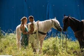 The Lovely Couple in The Legend of Hercules (2014) - Behind the Scenes photos