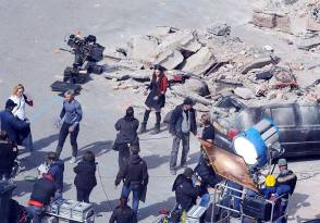 On Location – The Avengers : Age of Ultron (2015) - Behind the Scenes photos