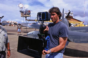 The Film Maker Michael Bay - Behind the Scenes photos