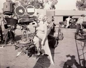 On Set of Monkey Business (1952)