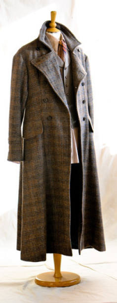 The Iconic Withnail Coat - Behind the Scenes photos