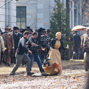 Filming Crimson Peak (2015) - Behind the Scenes photos