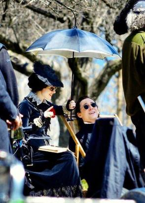 On Set of Crimson Peak (2015) - Behind the Scenes photos