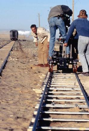 On the Set of The English Patient (1996) - Behind the Scenes photos