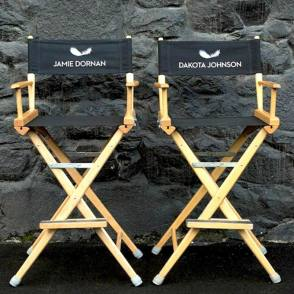 Actors Chairs on Set - Behind the Scenes photos