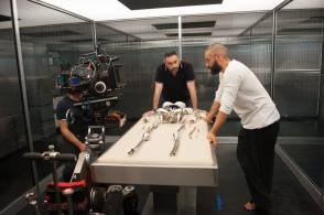 Filming Ex Machina (2015) - Behind the Scenes photos
