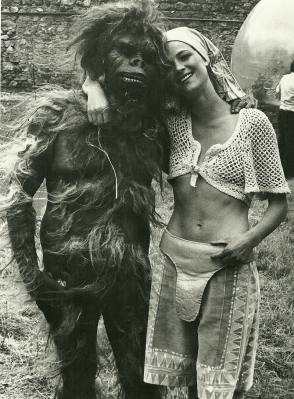 Charlotte Rampling in Zardoz (1974) - Behind the Scenes photos
