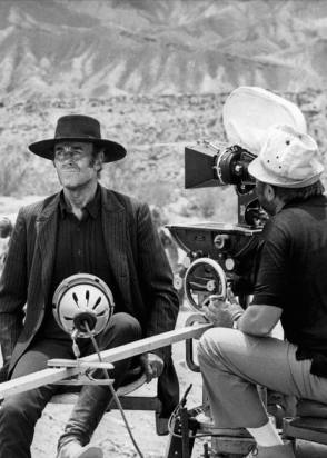 On Set of Once Upon a Time in the West (1968)