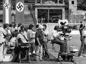 Filming Escape to Victory (1981) - Behind the Scenes photos