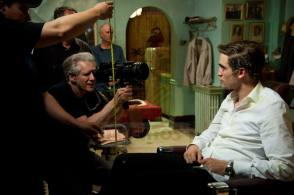 Robert Pattinson in Cosmopolis (2012) - Behind the Scenes photos