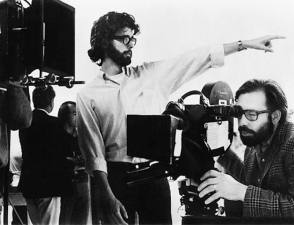 Two Great Directors on the Set