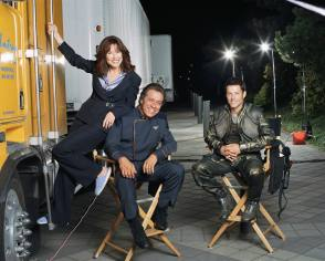 On Set of Battlestar Galactica (2004 TV series) - Behind the Scenes photos