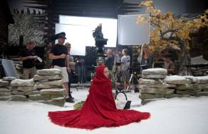 Amanda in Red Riding Hood (2011) - Behind the Scenes photos