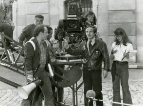 François Truffaut Directs - Behind the Scenes photos