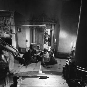 Filming The Innocents (1961) - Behind the Scenes photos