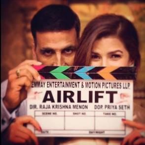 On Set of Airlift (2016) - Behind the Scenes photos