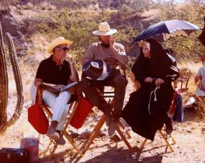 On Set of Two Mules for Sister Sara (1970) - Behind the Scenes photos