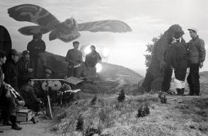 On Location : Mothra vs. Godzilla (1964) - Behind the Scenes photos