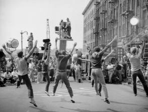 Filming West Side Story (1961) - Behind the Scenes photos