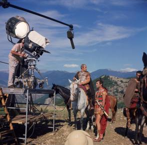 On Location : Cleopatra (1963) - Behind the Scenes photos