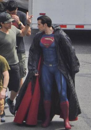 From the Film Batman v Superman: Dawn of Justice (2016) - Behind the Scenes photos