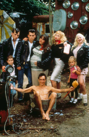 Cry Baby Movie Cast - Behind the Scenes photos
