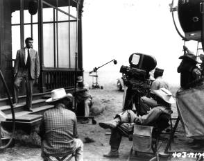 Filming Giant (1956) - Behind the Scenes photos